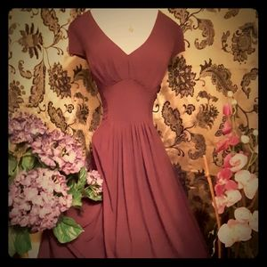 Bisou Bisou by Michele Bohbot Plum Purple Dress